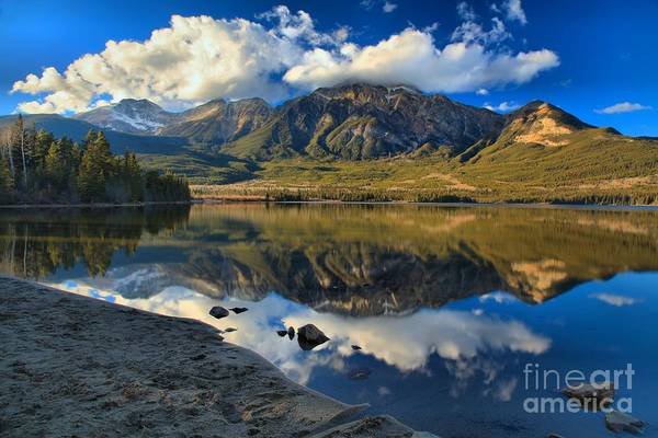 Photograph - Afternoon Reflections At Pyramid Lake by Adam Jewell