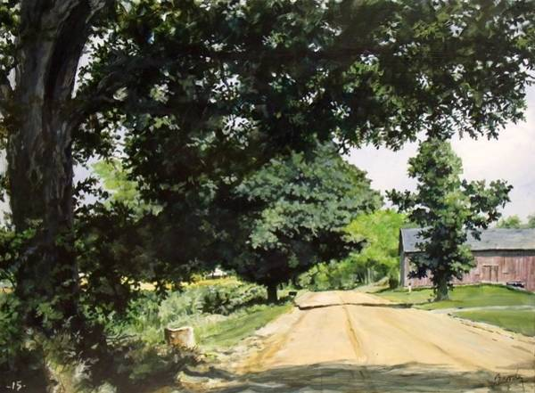 Painting - Afternoon Road by William Brody