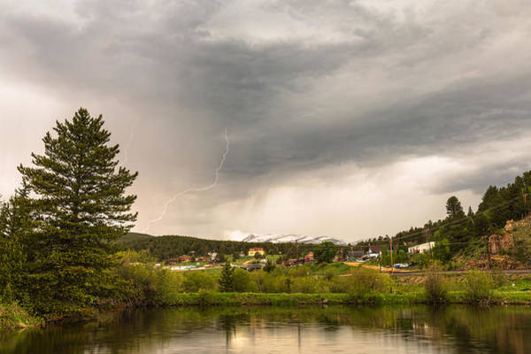 Photograph - Afternoon Rollinsville Lightning Thunderstorms by James BO Insogna