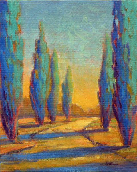 Painting - Afternoon Shadows 4 by Konnie Kim