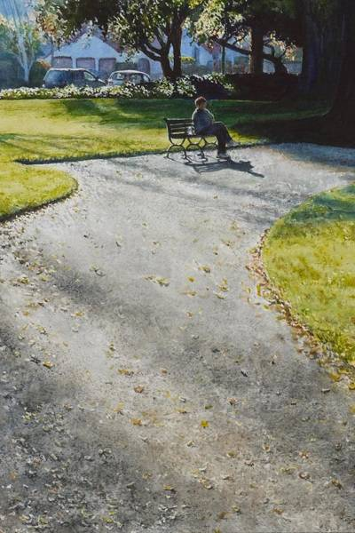 Painting - Afternoon Shadows by Barbara Pease