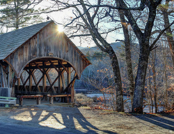 Photograph - Afternoon Sun At Sunday River by John Meader