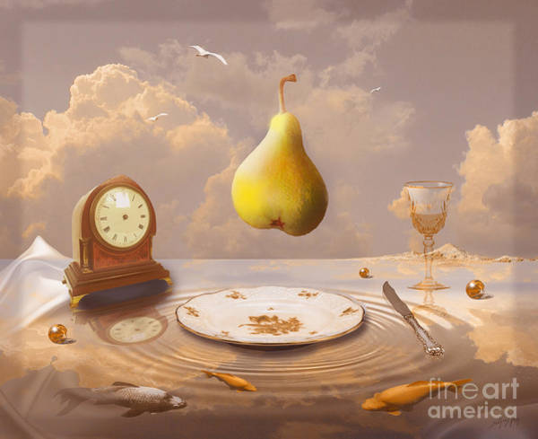 Drawing - Afternoon Tea by Alexa Szlavics
