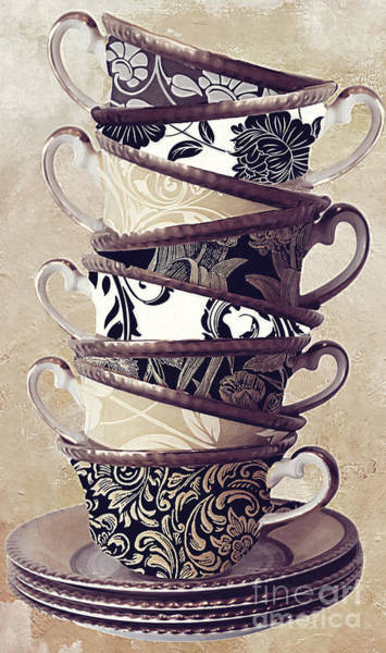Wall Art - Painting - Afternoon Tea by Mindy Sommers