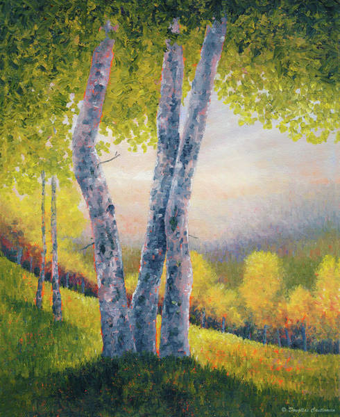 Painting - Afternoon Trees by Douglas Castleman
