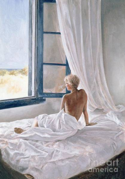 Unclothed Wall Art - Painting - Afternoon View by John Worthington