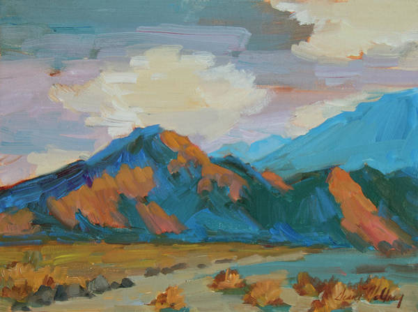 Wall Art - Painting - Afternoon Walk In La Quinta Cove by Diane McClary