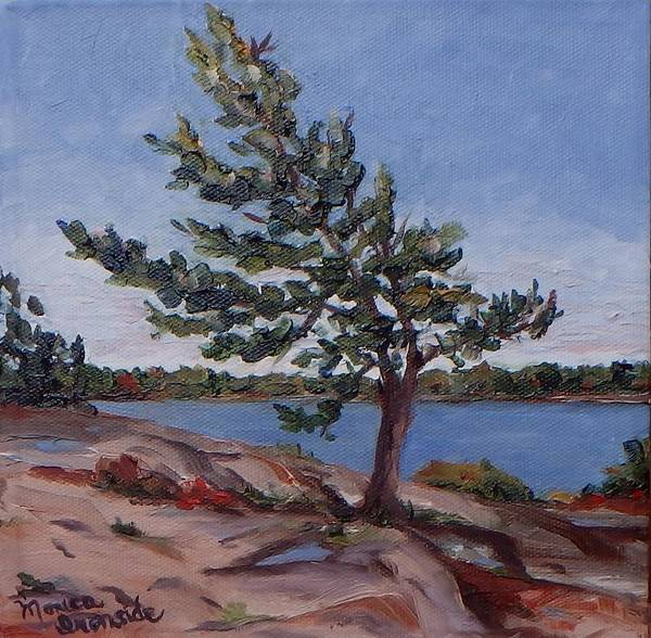 Painting - Against The Wind by Monica Ironside