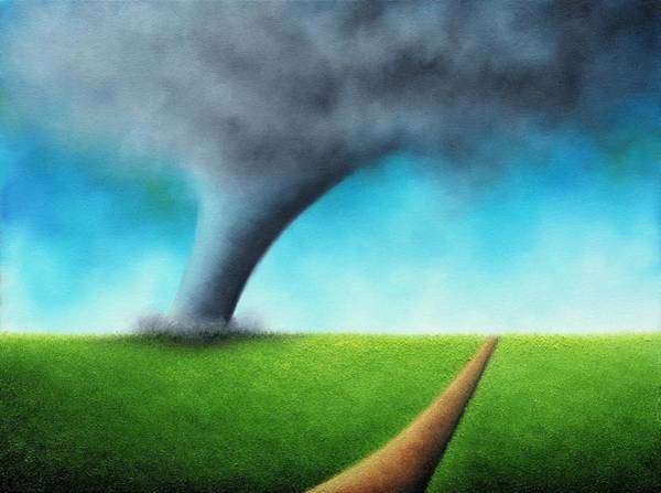 Wall Art - Painting - Against Wayward Winds by Rachel Bingaman