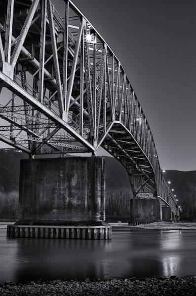 Photograph - Agassiz-rosedale Bridge by Brad Koop