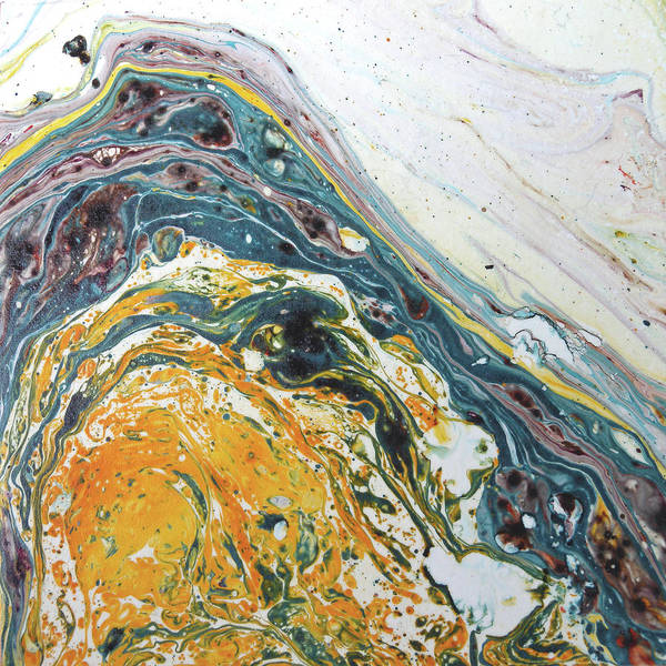 Wall Art - Painting - Agate by Lisa Lipsett