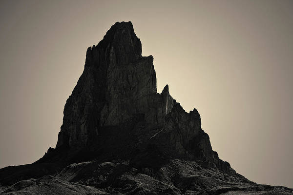 Photograph - Agathla Peak Az I Toned by David Gordon