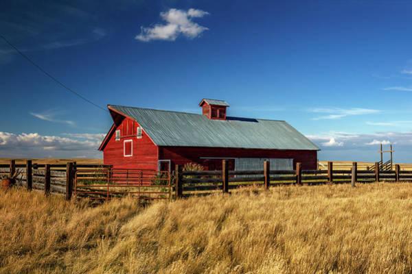 Photograph - Agawam Barn by Todd Klassy