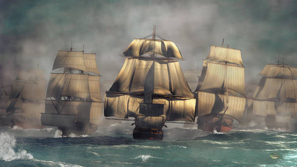 Digital Art - Age Of Sail by Daniel Eskridge