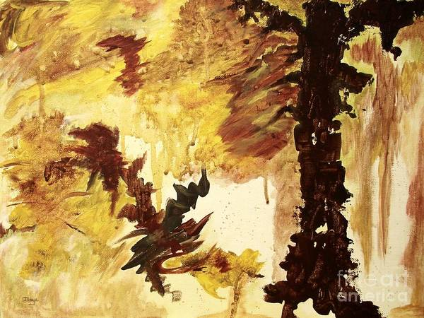 Primal Painting - Age Of The Fall  by Itaya Lightbourne