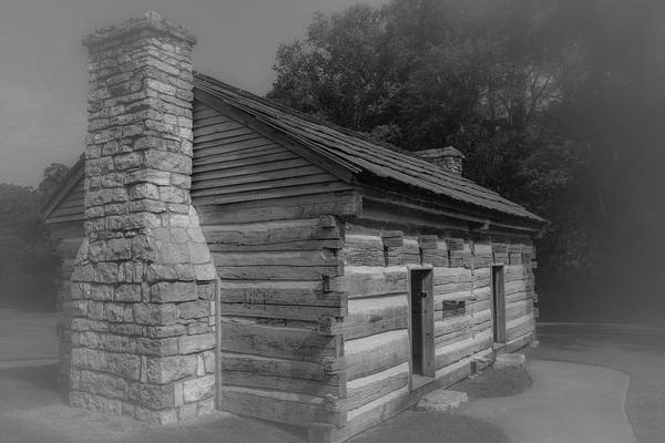 Photograph - Aged Cabin At The Hermitage by James L Bartlett