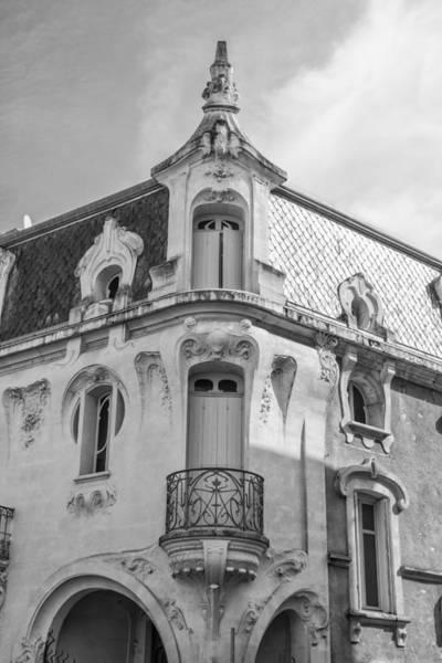 Photograph - Agen Art Nouveau Building by Georgia Fowler