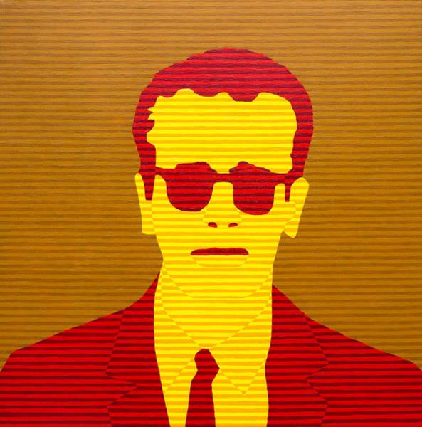 Reservoir Dogs Painting - Agent Orange by Oliver Johnston