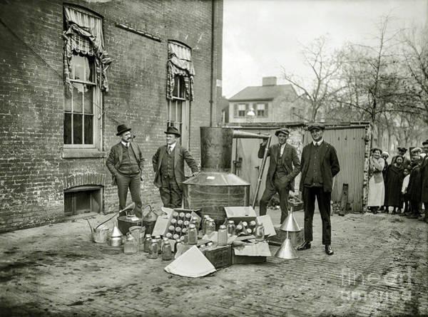 Flapper Photograph - Agents Got The Still by Jon Neidert