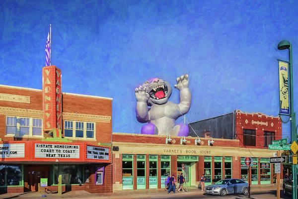 Kansas State University Photograph - Aggieville Morning by James Barber