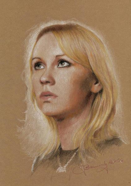 Agnetha Art Print