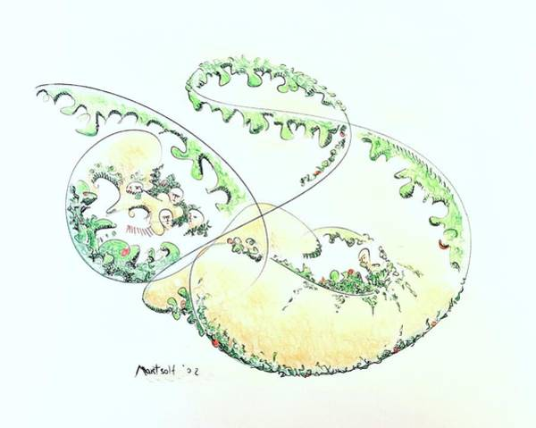 Drawing - Agriculture by Dave Martsolf