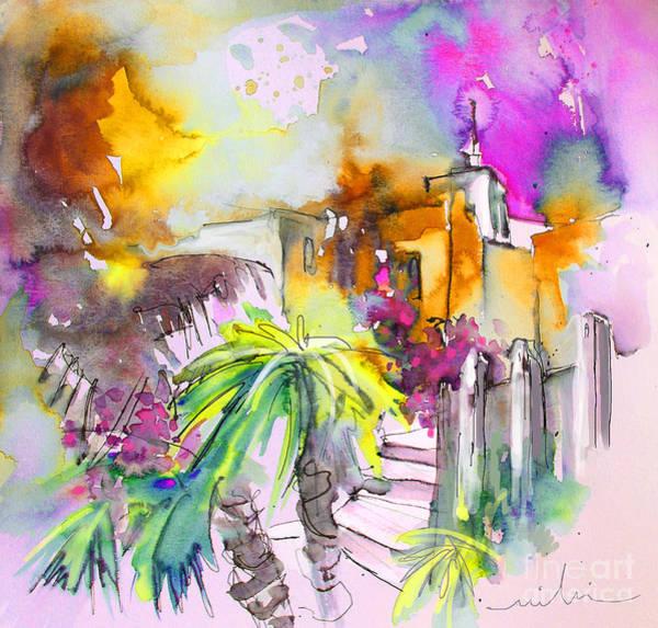 Painting - Agua Amarga Fantasy 01 by Miki De Goodaboom