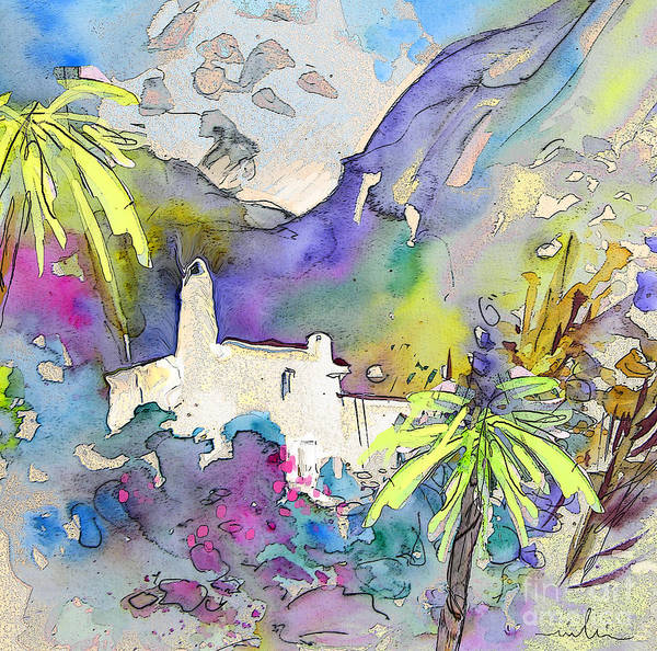 Painting - Agua Amarga Fantasy 02 by Miki De Goodaboom