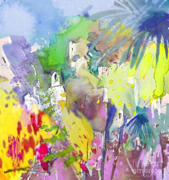 Painting - Agua Amarga Fantasy 04 by Miki De Goodaboom