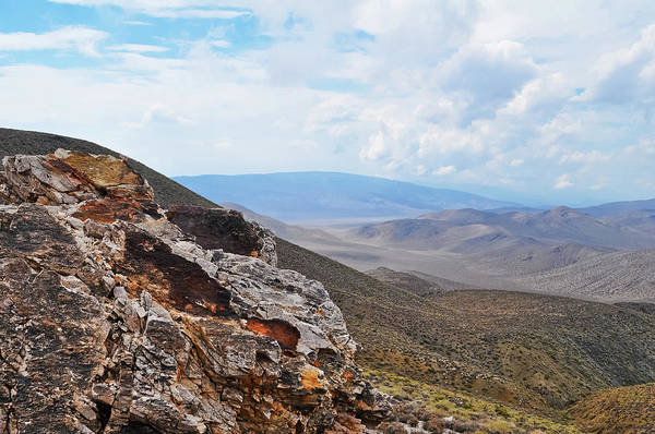 Photograph - Aguereberry Point Mountain Vista by Kyle Hanson