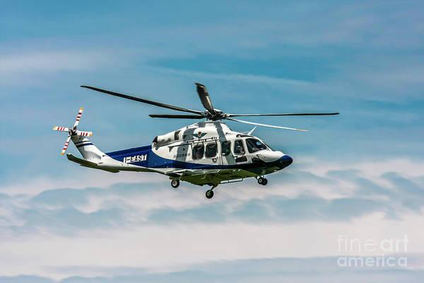Agustawestland Photograph - agustawestland AW139 helicopter  by Amos Dor