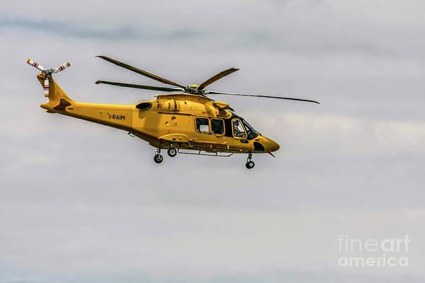 Agustawestland Photograph - agustawestland AW189 helicopter  by Amos Dor