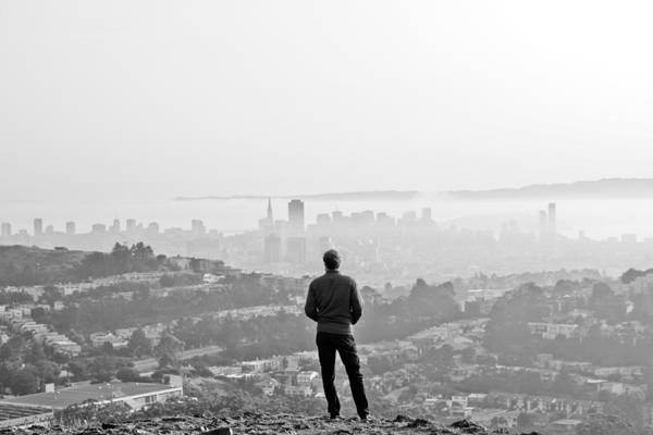 San Francisco Photograph - Ahead by Jane Hu