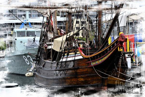 Wall Art - Photograph - Ahoy Matey by Minnetta Heidbrink