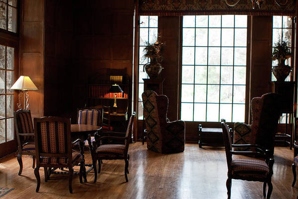Photograph - Ahwahnee Library by Lorraine Devon Wilke