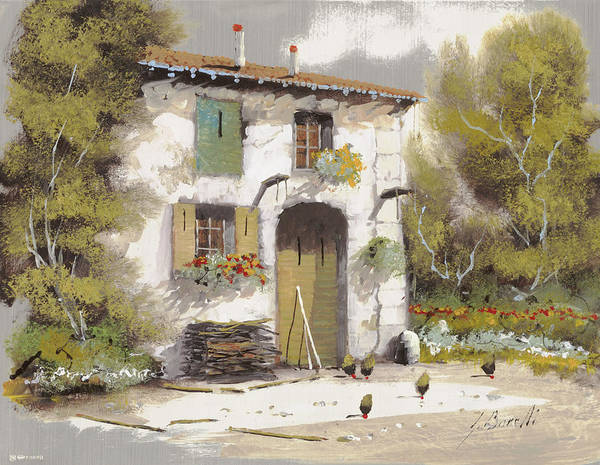 Wall Art - Painting - AIA by Guido Borelli