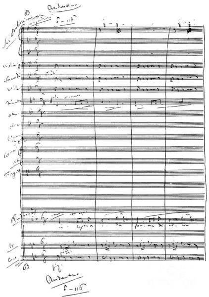 Wall Art - Drawing - Aida Score  Radames To Aida by Giuseppe Verdi