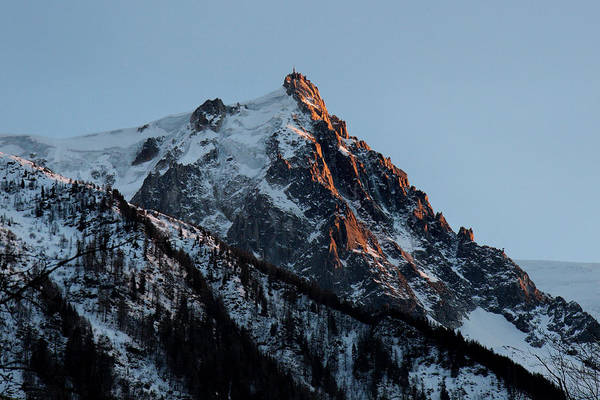 Photograph - Aiguille Du Midi Chamonix French Alps by Pierre Leclerc Photography