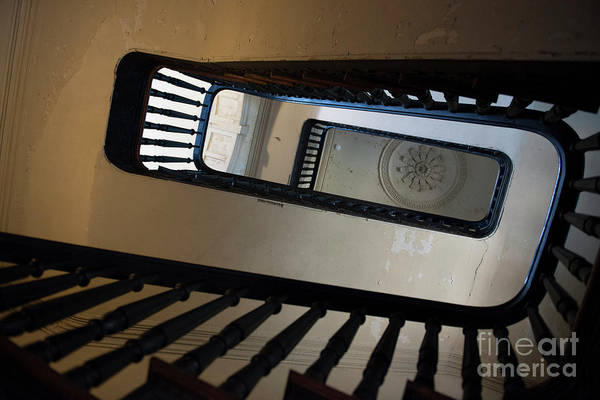 Photograph - Aiken Rhett Stairs by Dale Powell
