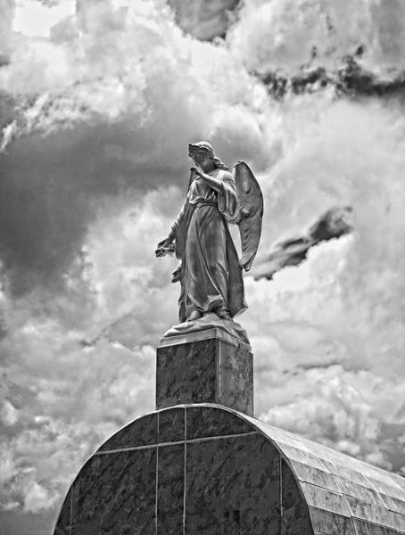 Life Or Death Photograph - Aingeal Black And White by Camera Or Bust