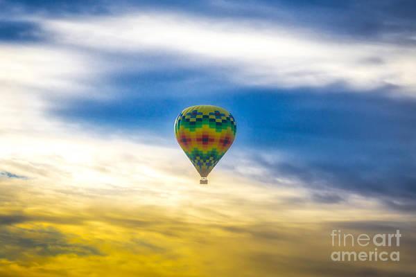 Wall Art - Photograph - Air Balloon At Sunrise by DAC Photo