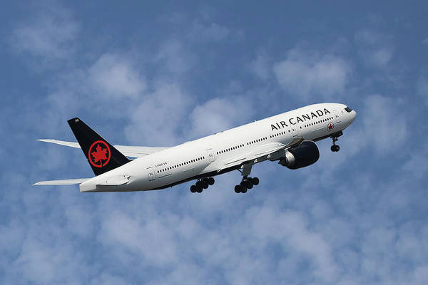 Canadian Photograph - Air Canada Boeing 777-233 by Smart Aviation