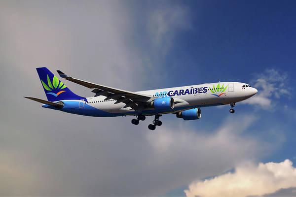 Wall Art - Photograph - Air Caraibes Airbus A330-200 by Smart Aviation