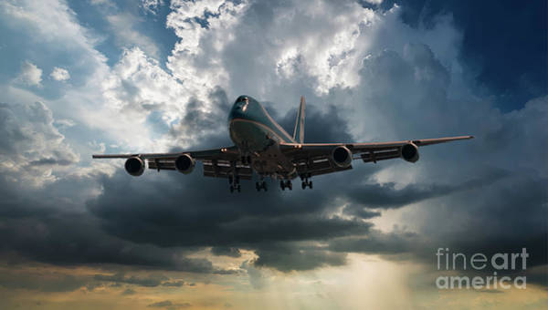 Photograph - Air Force One by Dale Powell