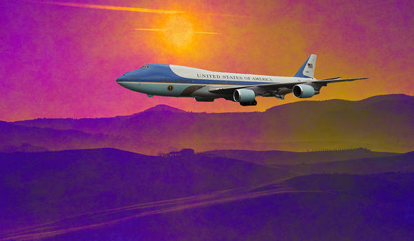 Photograph - Air Force One by Ericamaxine Price