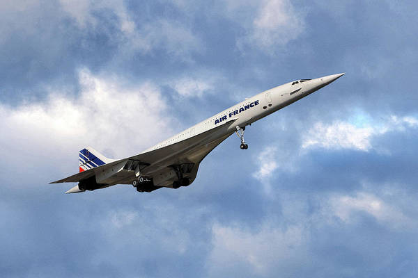 Wall Art - Photograph - Air France Concorde 118 by Smart Aviation