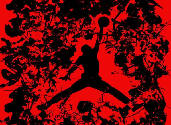 Wall Art - Painting - Air Jordan 1b by Brian Reaves