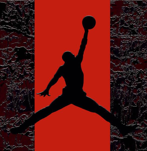 Wall Art - Mixed Media - Air Jordan Legacy 1b by Brian Reaves