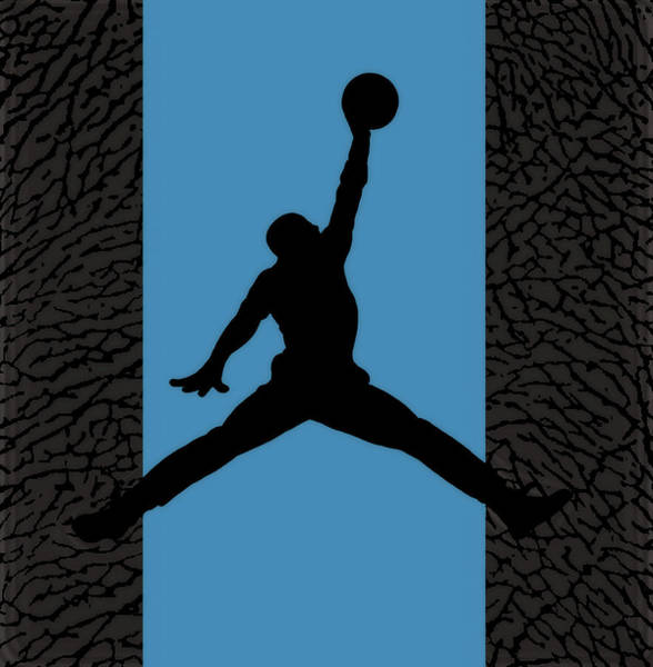 Wall Art - Mixed Media - Air Jordan Legacy by Brian Reaves