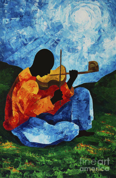 Haiti Painting - Air On The G String II by Patricia Brintle